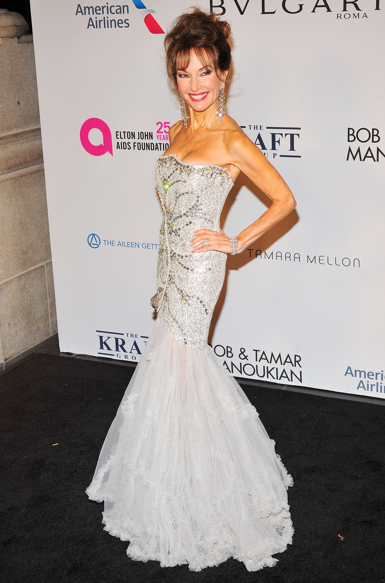 Susan Lucci Elton John Aids Foundation 25 Year