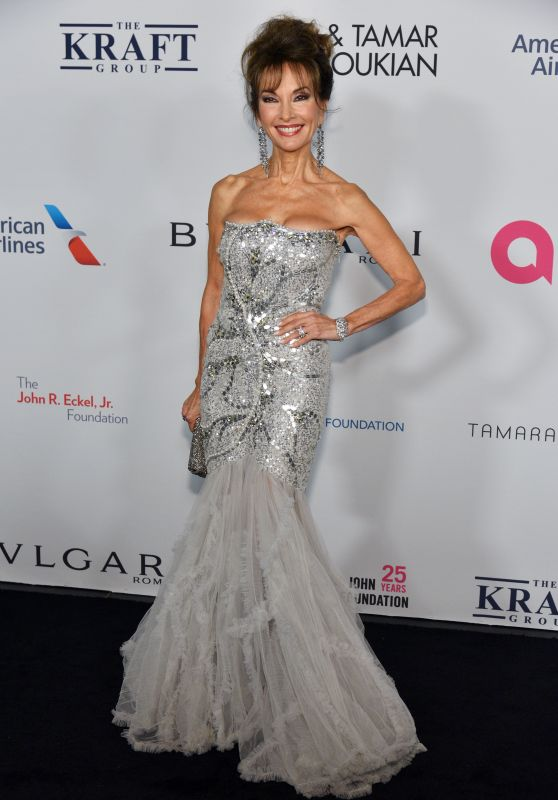 Susan Lucci – Elton John AIDS Foundation 25 Year Celebration in NYC
