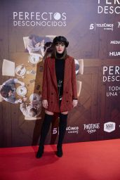"Susana Abaitua – ""Perfectos Desconocidos"" Premiere in Madrid, Spain 11/28/2017"