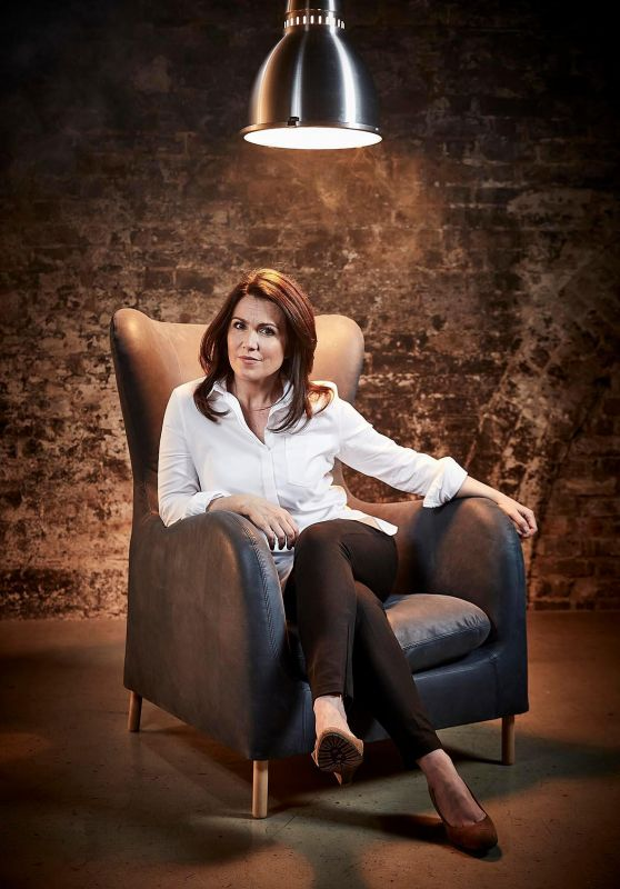 Susanna Reid Photoshoot - November 2017