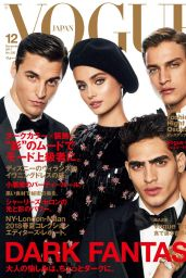 Taylor Marie Hill - Vogue Japan December 2017