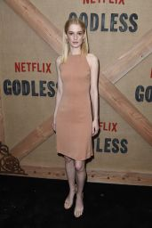 "Tess Frazer – ""Godless"" Premiere in New York 11/19/2017"