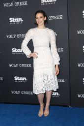 """Tess Haubrich – """"Wolf Creek"""" World Premiere in Sydney"""