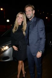Ulla Sandrock - James Milner Foundation Charity Ball in Manchester