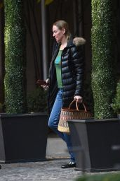 Uma Thurman - Out in New York City 11/26/2017