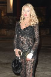 """Valeria Marini - """"Every child is my Child"""" Charity Dinner in Rome 11/03/2017"""