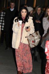 "Vanessa Hudgens - ""Second Act"" Movie Set in NYC 11/08/2017"