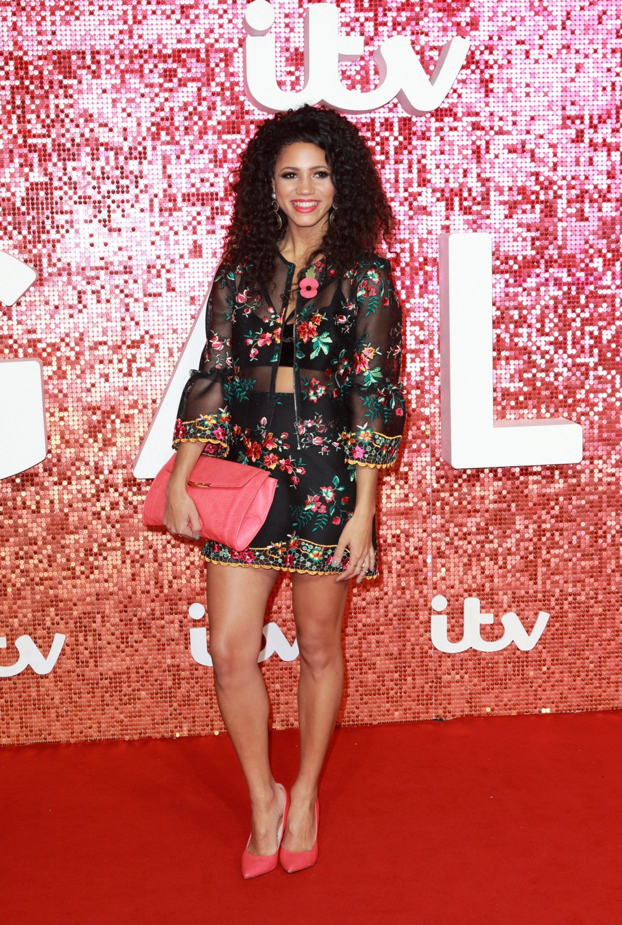 Vick Hope – ITV Gala Ball in London 11/09/2017