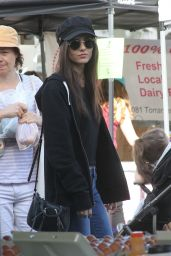 Victoria Justice and Madison Reed - Farmers Market in Studio City 11/19/2017