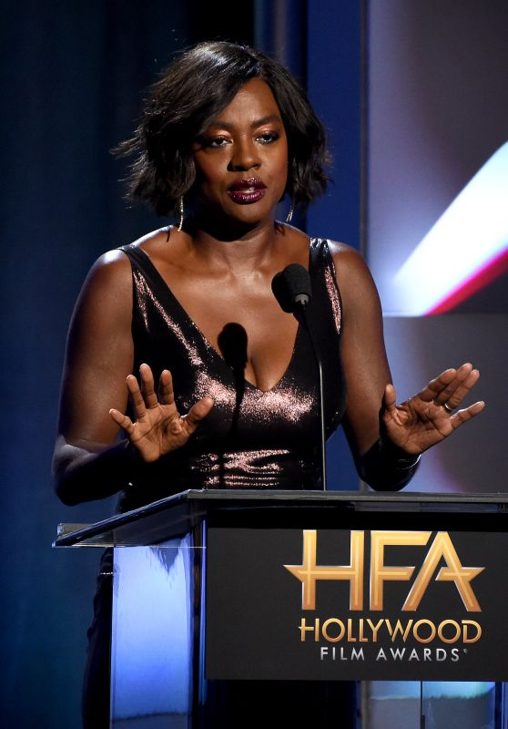 Viola Davis - Hollywood Film Awards 2017 in Los Angeles