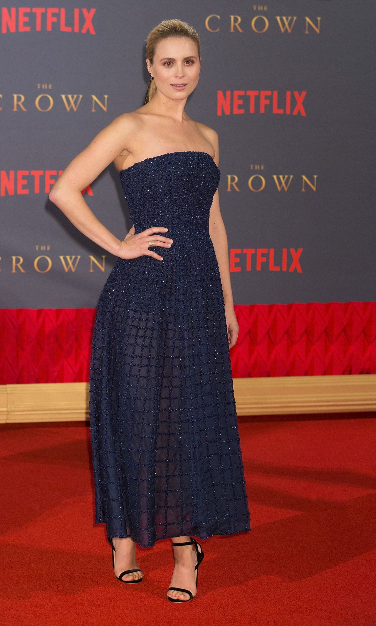 Yolanda Kettle The Crown Tv Show Premiere In London