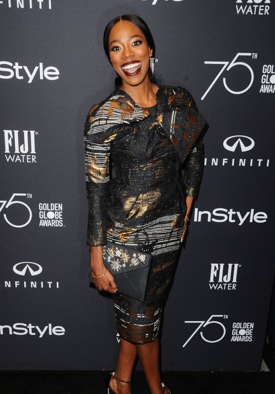 Yvonne Orji – HFPA and InStyle Celebrate Golden Globe Season in Los Angeles 11/15/2017