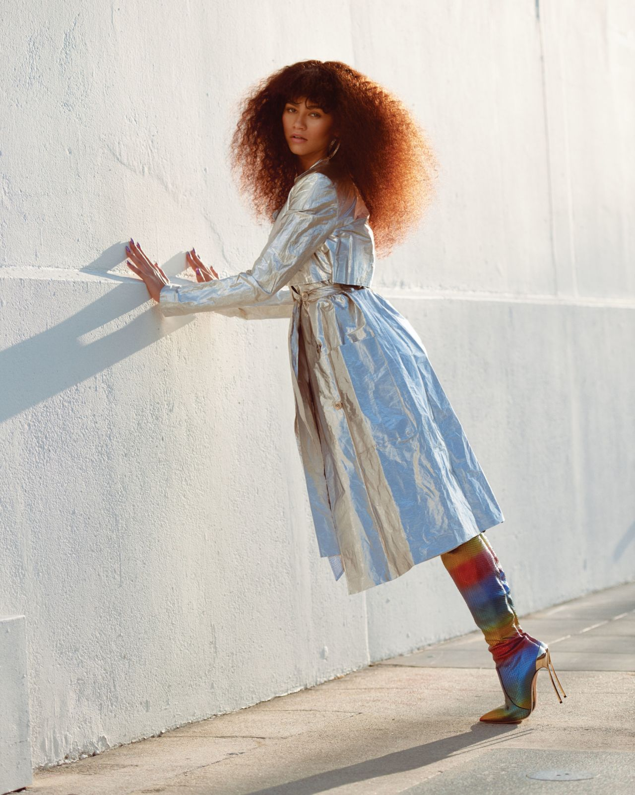 Zendaya Photoshoot For Fashion Magazine Winter 2018 Issue