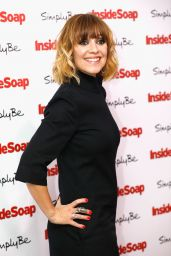 Zoe Henry at Inside Soap Awards 2017 in London