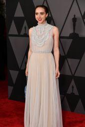 Zoe Kazan – Governors Awards 2017 in Hollywood