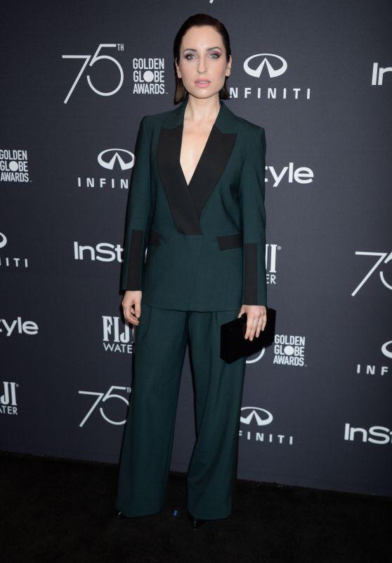 Zoe Lister-Jones – HFPA and InStyle Celebrate Golden Globe Season in Los Angeles 11/15/2017