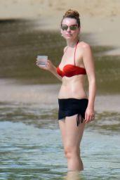 Zoe Salmon in Bikini in Barbados 11/05/2017