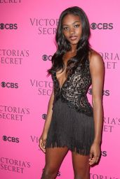 Zuri Tibby – 2017 VS Fashion Show Viewing Party in NYC