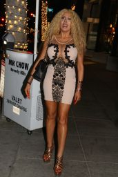 Afida Turner at Mr Chow in Beverly Hills