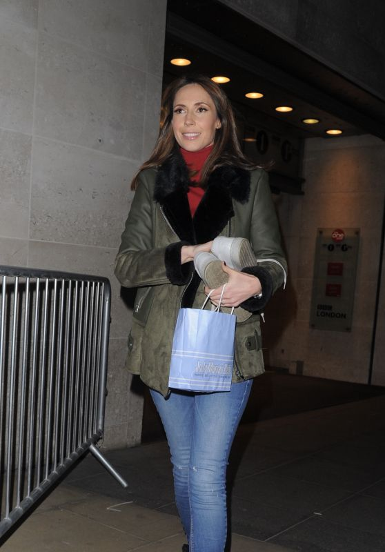 Alex Jones - BBC Studios in London 12/18/2017
