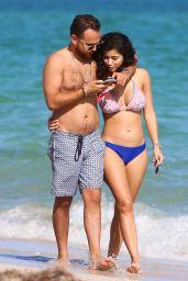 Alexandra Rodriguez in Two Piece Bikini in Miami Beach 12/07/2017