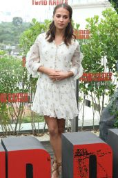 Alicia Vikander - Tomb Raider Photocall at the Unique Hotel in Sao Paulo