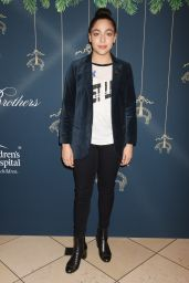 Allegra Acosta – Brooks Brothers and St. Jude Annual Holiday Party in LA