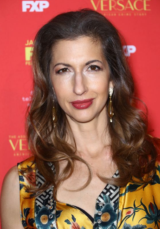 """Alysia Reiner – """"The Assassination of Gianni Versace American Crime Story"""" TV Show Premiere in New York"""