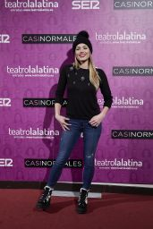 "Alyson Eckmann – ""Casi Normales"" Play Opening Night in Madrid"
