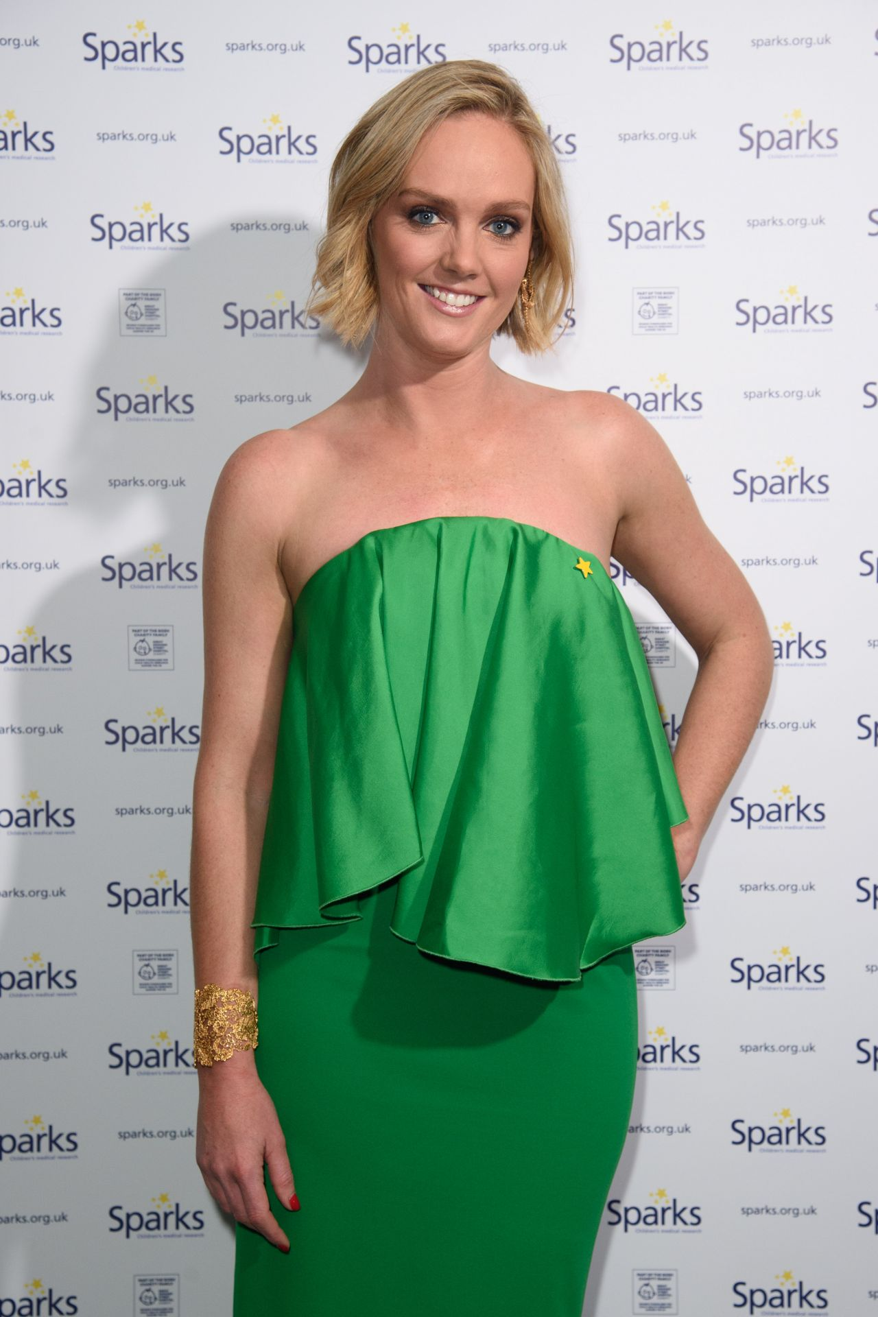 Amanda Davies – Sparks Winter Ball in London
