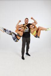 Amber Davies and Lisa Welham - Strong Not Skinny Fitness Photoshoot