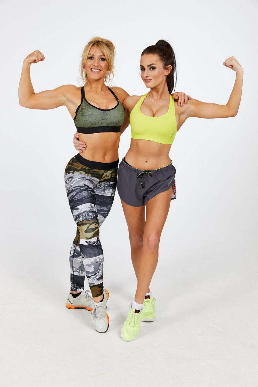 Amber Davies and Lisa Welham - Strong Not Skinny Fitness Photoshoot