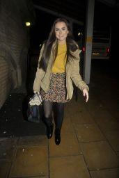 Amber Davies Fall Style - London 12/06/2017