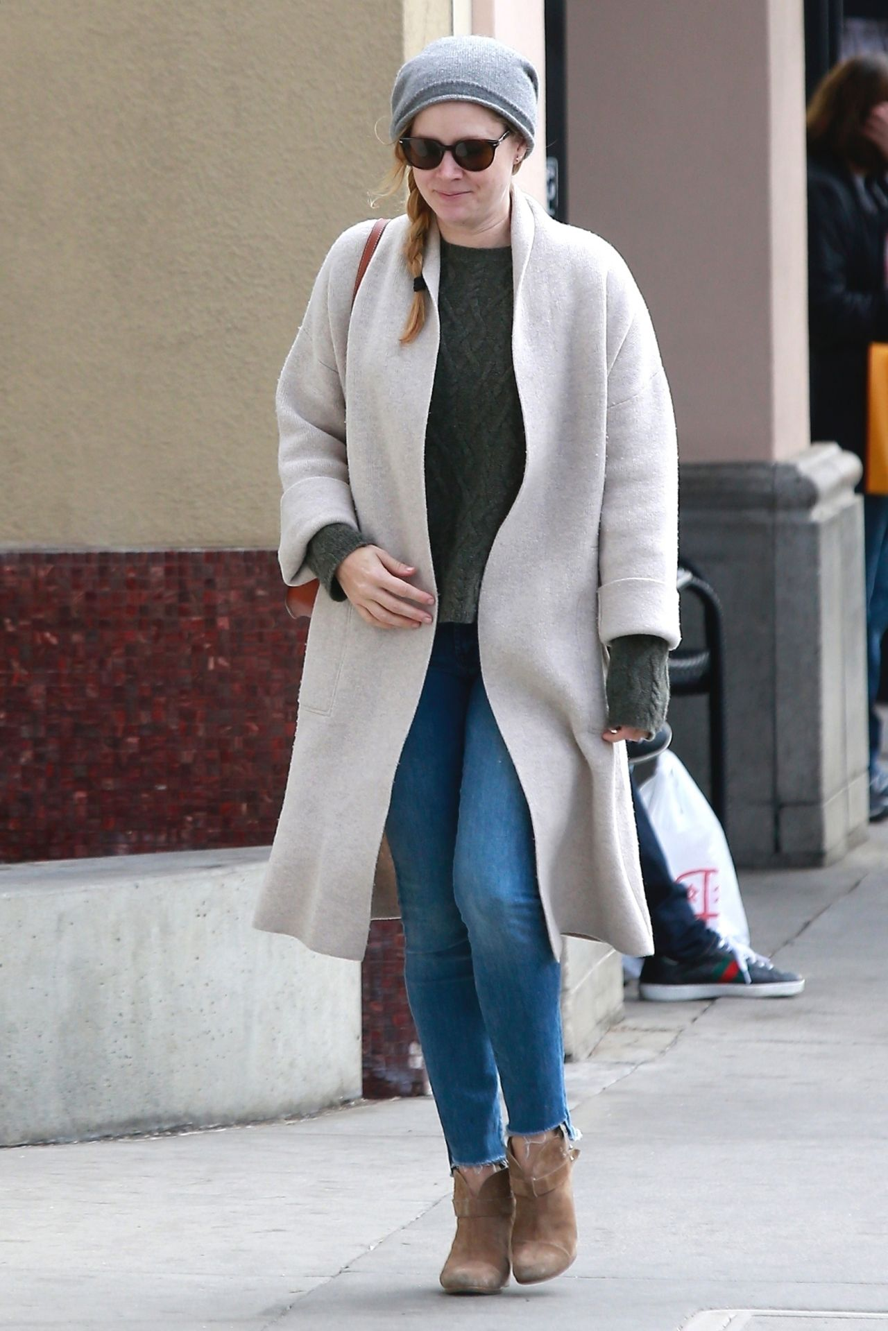 Amy Adams - Shopping in Beverly Hills 12/23/2017