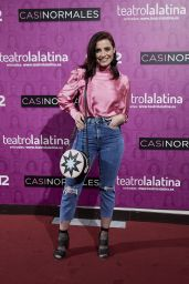 "Ana del Rey – ""Casi Normales"" Play Opening Night in Madrid"