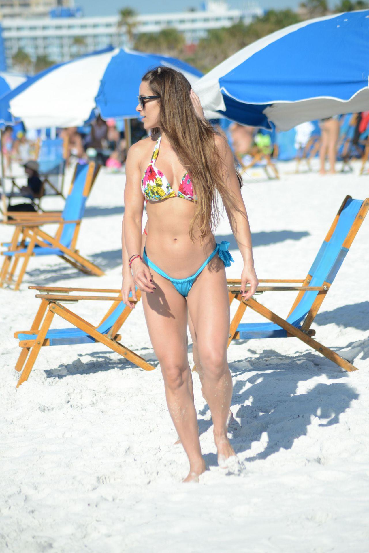 Anais Zanotti and Nicole Cardia in Bikini in Miami Pic 4 of 35