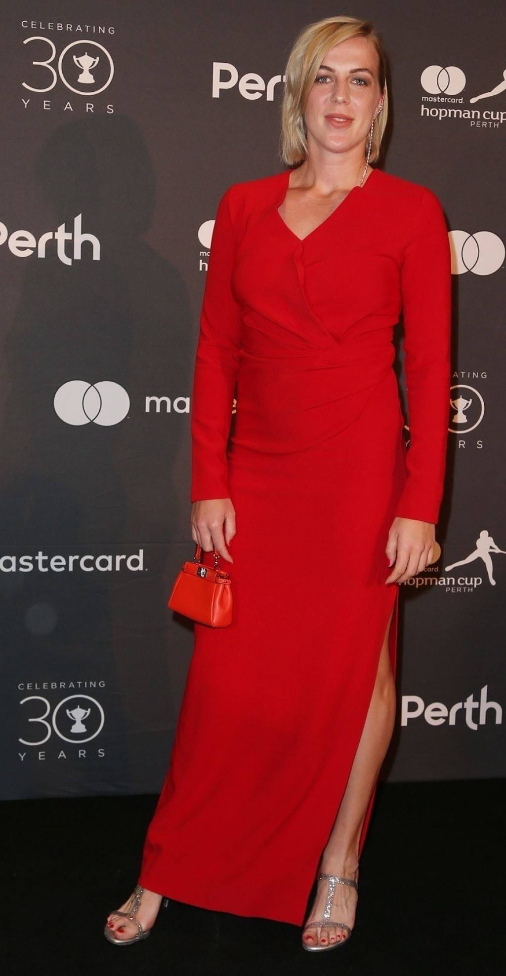 Anastasia Pavlyuchenkova at Hopman Cup New Years Eve Players Ball in Perth