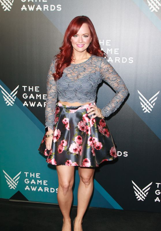 Andrea Rene – The Game Awards 2017 in Los Angeles