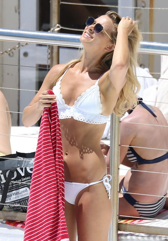 Anna Heinrich at Bondi Icebergs Swimming pool in Bondi Sydney