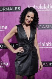 """Anna Maria Agusti Flores – """"Casi Normales"""" Play Opening Night in Madrid"""