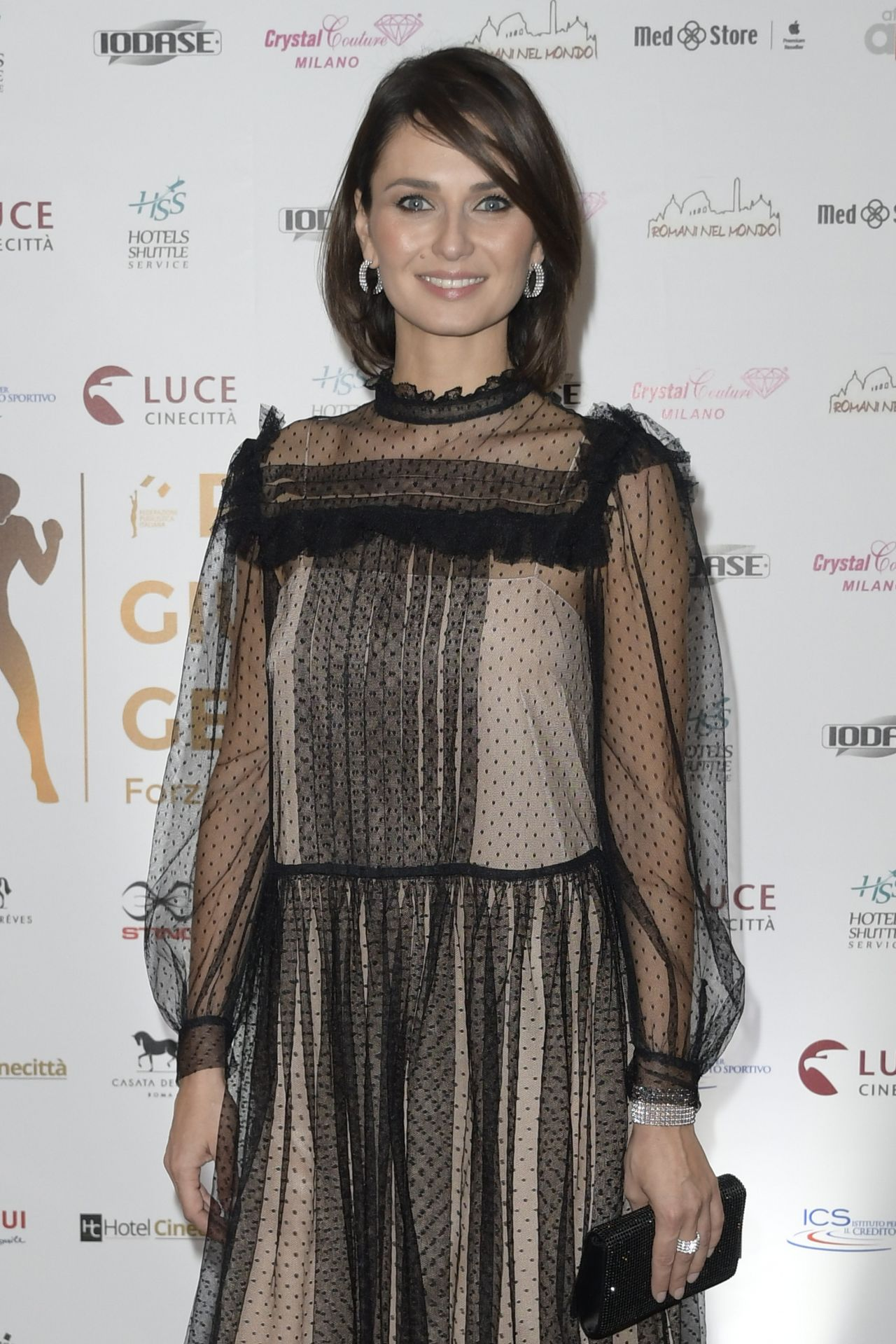 Anna Safroncik Giuliano Gemma Awards 2017 In Rome