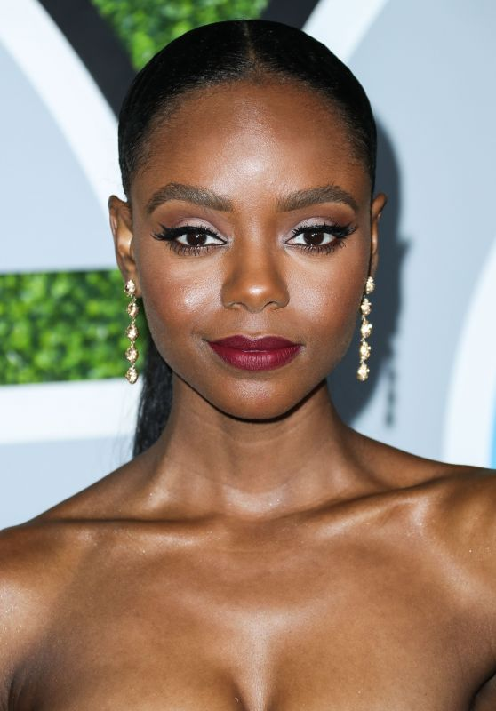 Ashleigh Murray – GQ Men of the Year Awards 2017