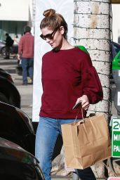 Ashley Greene Stops to Get Lunch To-Go in Beverly Hills
