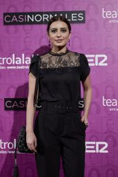 """Aurora Carbonell – """"Casi Normales"""" Play Opening Night in Madrid"""