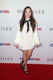 """Ava Cantrell – """"Hostiles"""" Premiere in LA"""