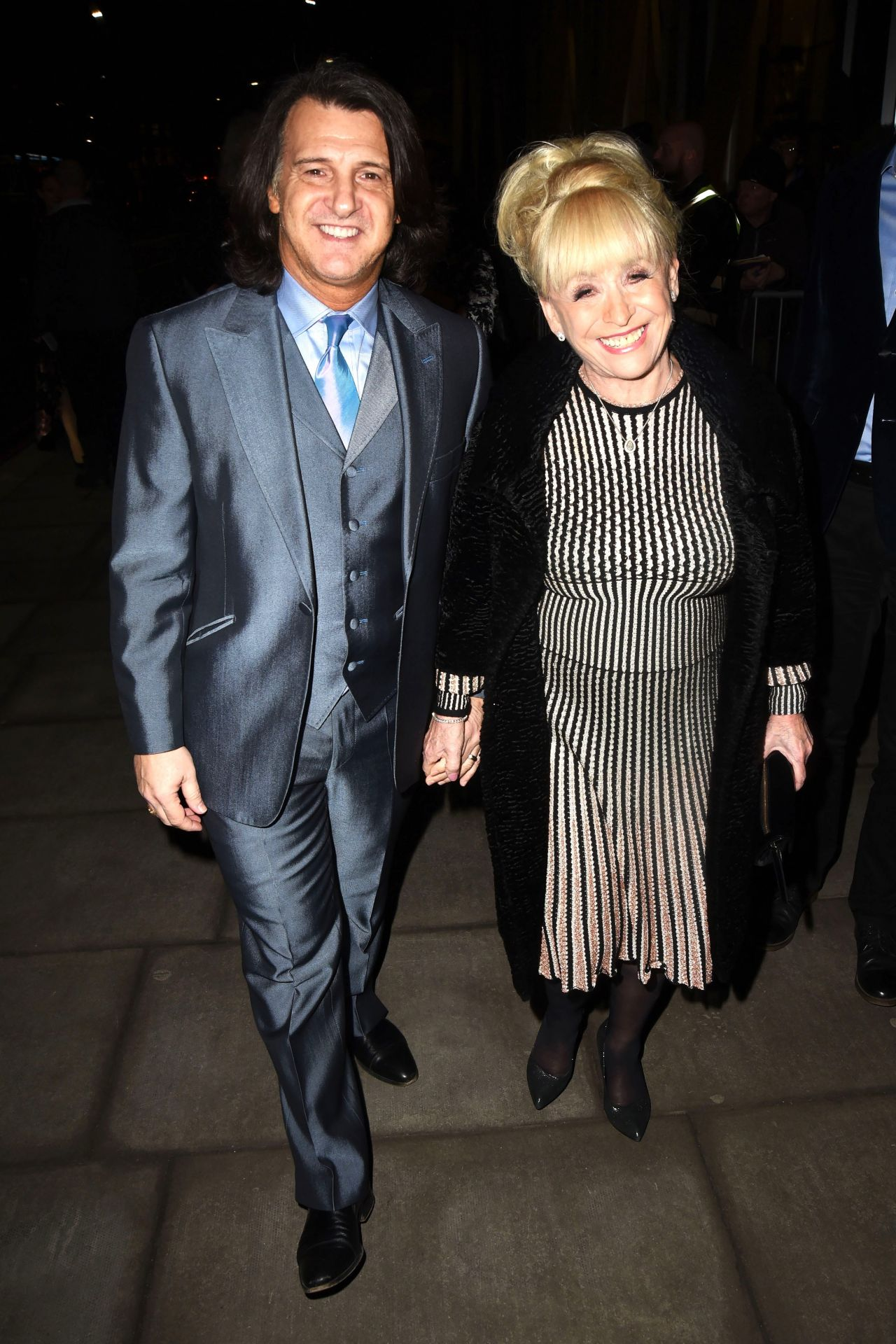 "Barbara Windsor – ""Hamilton"" Musical Press Night in London"