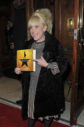 "Barbara Windsor – ""Hamilton"" Musical Press Night in London"