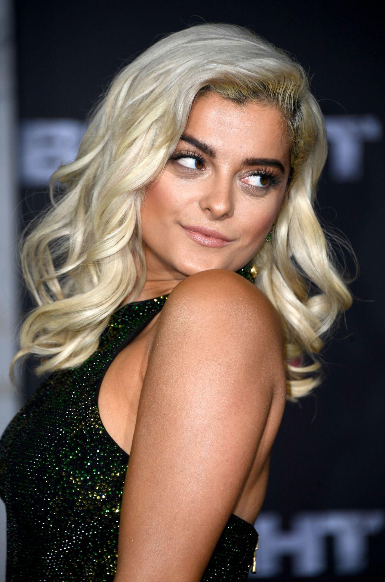 Bebe Rexha Bright Premiere In Los Angeles