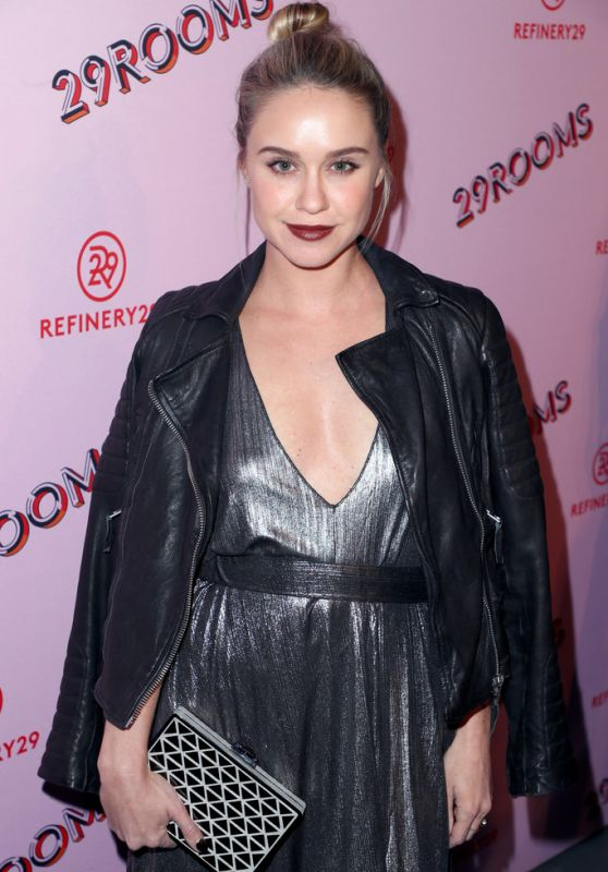 "Becca Tobin -""Refinery 29: Turn it into Art"" Opening Night in Los Angeles"