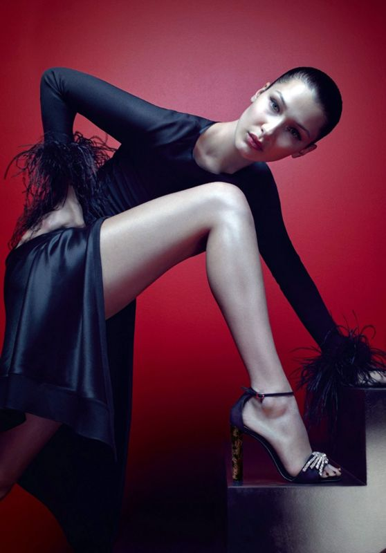 Bella Hadid - Giuseppe Zanotti Photoshoot 2017